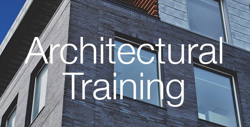 Architecural training worshop ramen tinten gebouwen