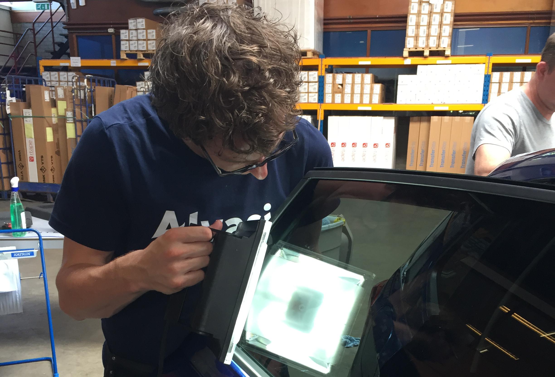 Ramen controleren raamtinttraining autoramen