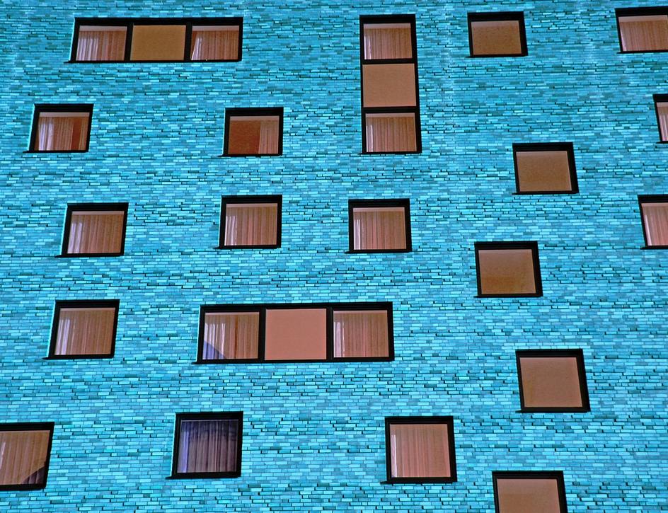 Raamfolie zonwerend gebouw