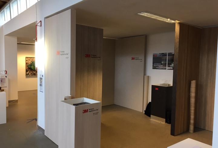 Vink VTS staat op de Dutch Design Week te Eindhoven om daar de mogelijkheden van 3M Dinoc interieurfolie te laten zien