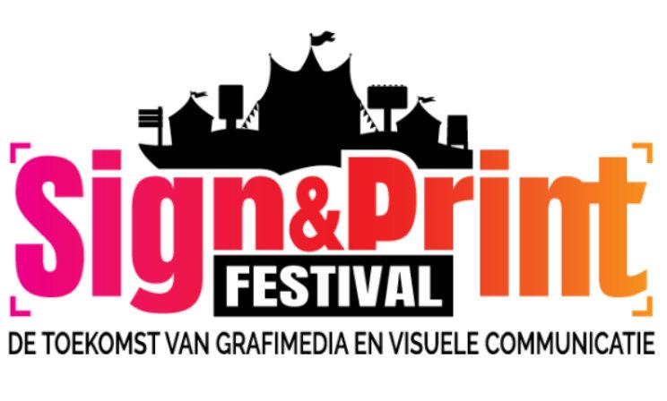 Sign print festival interier vink inspiratie